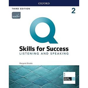 Q Skills for Success 2 Listening & Speaking Student´s Book with iQ Online Practice, 3rd