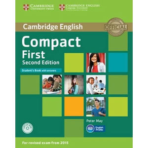 Compact First Student´s Book with Answers with CD-ROM - Peter May