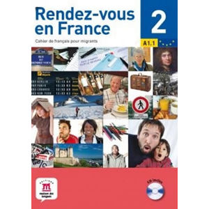 Rendez-vous en France 2 + CD (A1.2) - neuveden