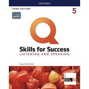 Q Skills for Success 5 Listening & Speaking Student´s Book with iQ Online Practice, 3rd