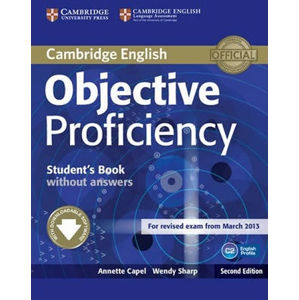 Objective Proficiency Students Book without Answers with Downloadable Software - Annette Capel