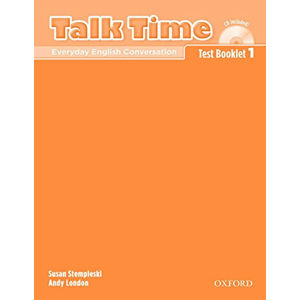 Talk Time 1 Test Booklet with Audio CD
