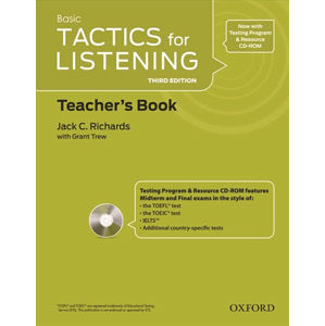Basic Tactics for Listening Teacher´s Book with Audio CD Pack (3rd)