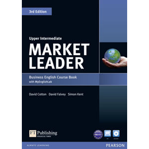 Market Leader 3rd Edition Upper Intermediate Coursebook w/ DVD-ROM/ MyEnglishLab Pack - David Cotton