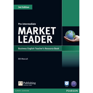 Market Leader 3rd Edition Pre-Intermediate Teacher´s Resource Book w/ Test Master CD-ROM Pack - Bill Mascull