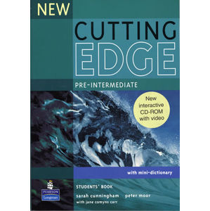 New Cutting Edge Pre-Intermediate Students´ Book w/ CD-ROM Pack - Students Book Pack - Sarah Cunningham