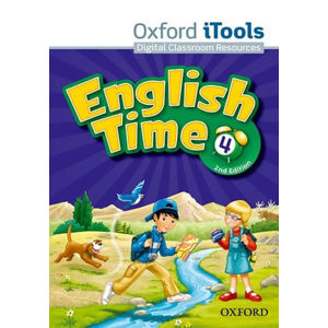 English Time 4 iTools DVD-ROM (2nd)