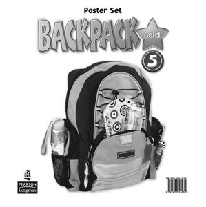 BackPack Gold New Edition 5 Posters - 2nd Revised edition - Diane Pinkley