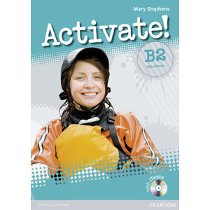 Activate! B2 Workbook w/ CD-ROM Pack (no key) - Mary Stephens
