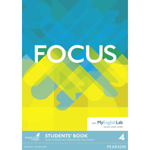 Focus 4 Students´ Book with MyEnglishLab Pack - Vaughan Jones