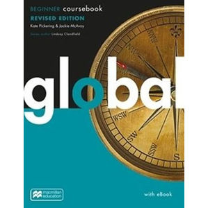 Global Revised Beginner - Coursebook + eBook - neuveden