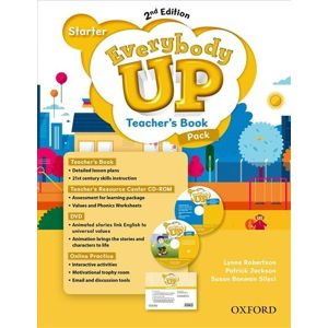 Everybody Up Starter Teacher´s Book Pack with DVD, Online Practice and Teacher´s Resource Center CD-ROM, 2nd