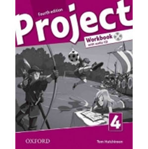 Project 4 Workbook with Audio CD and Online Practice 4th (International English Version) - Tom Hutchinson