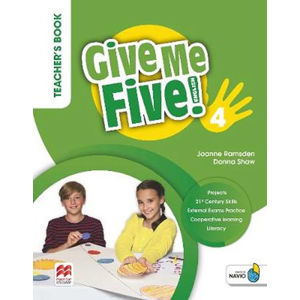Give Me Five! Level 4. Teacher´s Book  Pack