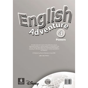 English Adventure 4 Posters - Posters - neuveden
