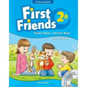 First Friends American English 2 Student Book/Workbook B and Audio CD Pack