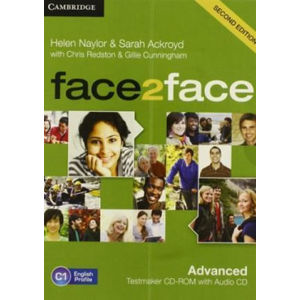 face2face Advanced 2nd Edition Testmaker CD-ROM and Audio CD