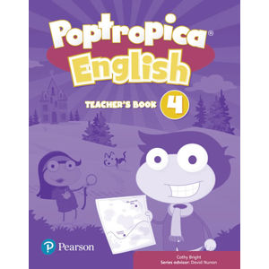 Poptropica English 4 Teacher´s Book w/ Online Game Access Card Pack - Fiona Beddall