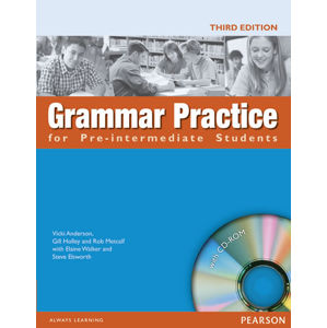 Grammar Practice for Pre-Intermediate Students´ Book w/ CD-ROM Pack (no key) - Student Book No Key Pack - Steve Elsworth