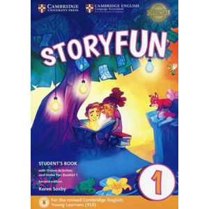 Storyfun for Starters Level 1 Student´s Book with Online Activities and Home Fun Booklet 1