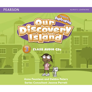 Our Discovery Island 3 Audio CD - CD - Anne Feunteun
