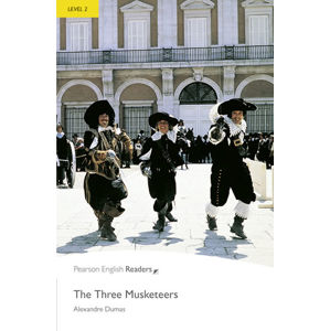 PER | Level 2: The Three Musketeers Bk/MP3 Pack - Alexandre Dumas