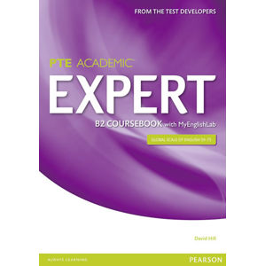 Expert PTE Academic B2 Coursebook w/ MyEnglishLab Pack - David Hill