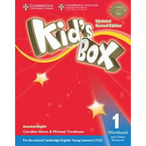Kid´s Box Level 1 Workbook with Online Resources American English