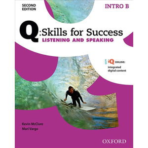 Q Skills for Success Intro Listening & Speaking Student´s Book B (2nd)