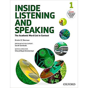 Inside Listening and Speaking 1 Student´s Book Pack
