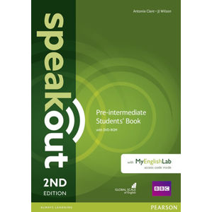 Speakout 2nd Edition Pre-Intermediate Students´ Book w/ DVD-ROM/MyEnglishLab Pack - Antonia Clare