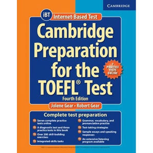 Cambridge Preparation for the TOEFL Test Book with CD-ROM
