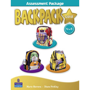 BackPack Gold New Edition 4-6 Assessment Book w/ Multi-Rom - 2nd Revised edition - Diane Pinkley
