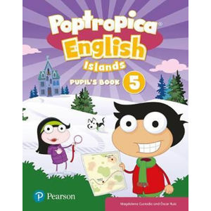 Poptropica English Level 5 Pupil´s Book and Online Game Access Card Pack - Aaron Jolly
