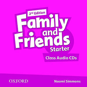 Family and Friends Starter Class Audio CDs /2/ (2nd)