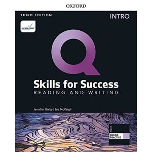 Q Skills for Success Intro Reading & Writing Student´s Book with iQ Online Practice, 3rd