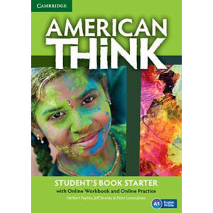 American Think Starter Student´s Book with Online Workbook and Online Practice