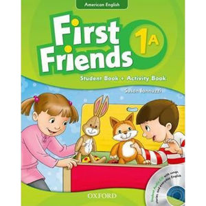 First Friends American English 1 Student Book/Workbook A and Audio CD Pack