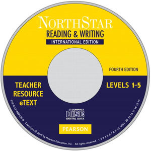 NorthStar 4th Edition Reading and Writing 1 - 5 Teacher´s Resource eText CD ROM - neuveden