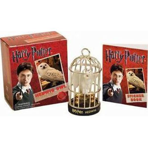 Harry Potter Hedwig Owl Kit and Sticker Book - neuveden