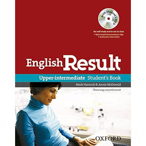 English Result Upper Intermediate Student´s Book + DVD Pack