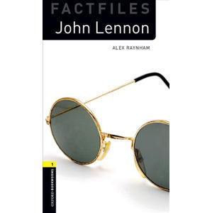 Oxford Bookworms Factfiles 1 John Lennon with Audio Mp3 Pack (New Edition)