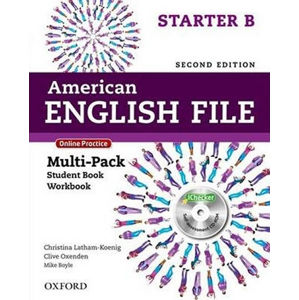 American English File Starter Multipack B with Online Practice and iChecker (2nd)