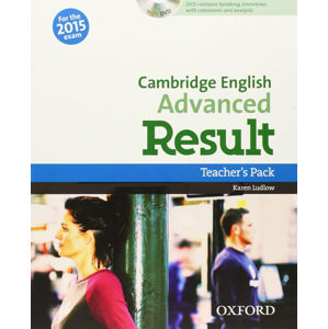 Cambridge English Advanced Result Teacher´s Book with DVD - Kathy Gude