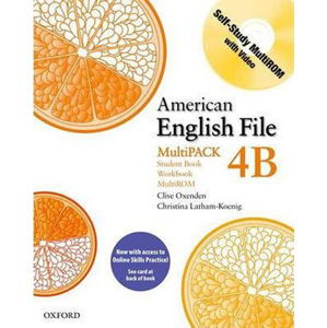 American English File 4 Student´s Book + Workbook Multipack B with Online Skills Practice Pack
