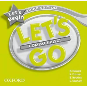 Let´s Go Let´s Begin Class Audio CDs /2/ (3rd)
