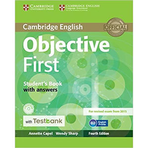 Objective First Student´s Book with Answers with CD-ROM with Testbank