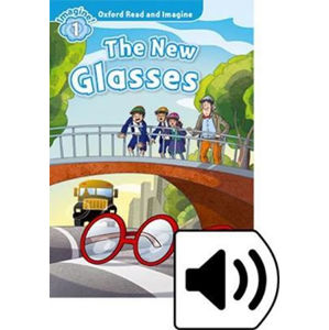 Oxford Read and Imagine Level 1 The New Glasses with Audio CD Pack