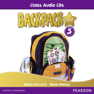 BackPack Gold New Edition 5 Class Audio CD - 2nd Revised edition - Mario Herrera