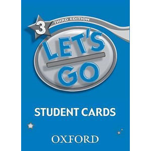 Let´s Go 3 Student´s Cards (3rd)